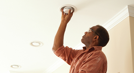 Replace incandescent light bulbs  LEDs - Home's Energy Efficiency Save