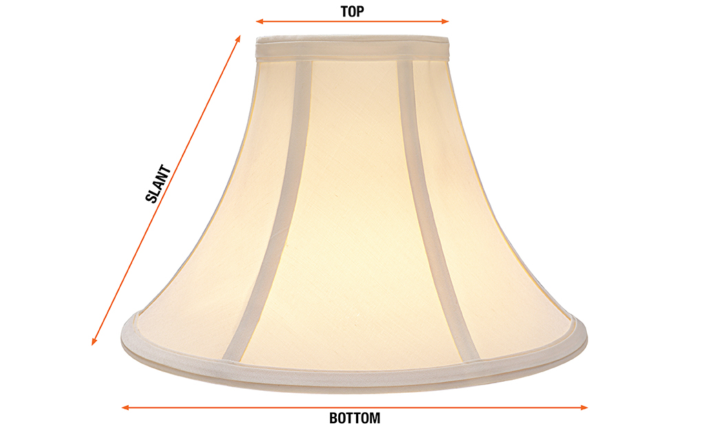 How To Measure A Lamp Shade The Home Depot