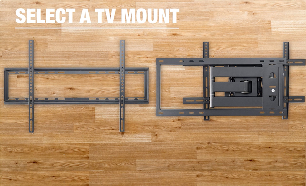 How To Mount A Flat Screen Tv On Wall The Home Depot