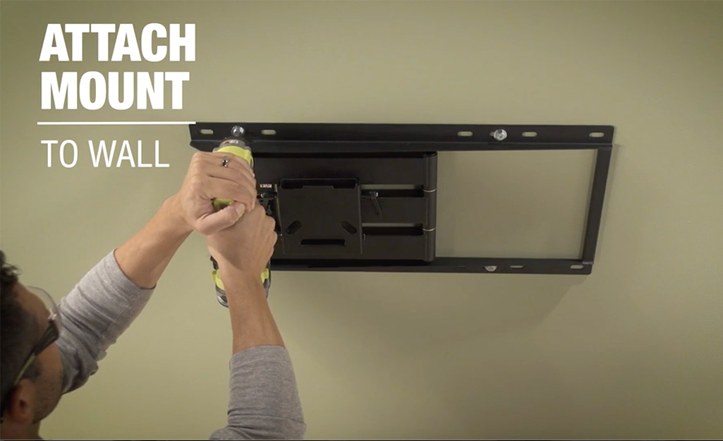 How To Wall Mount A Tv The Home Depot