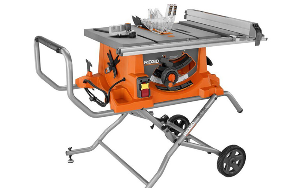 Consider a portable table saw - Table Saw
