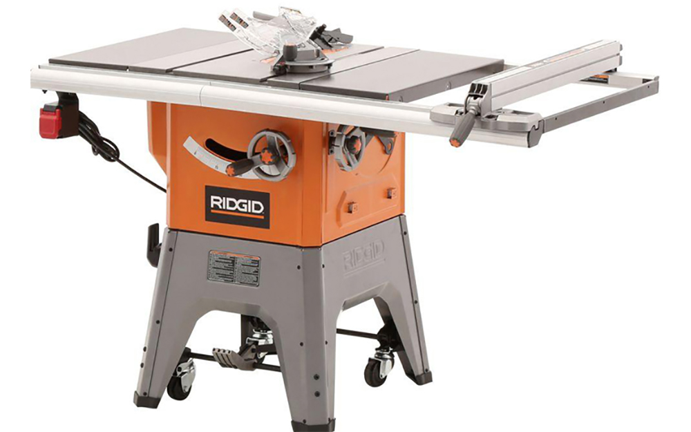 Consider a stationary table saw - Table Saw