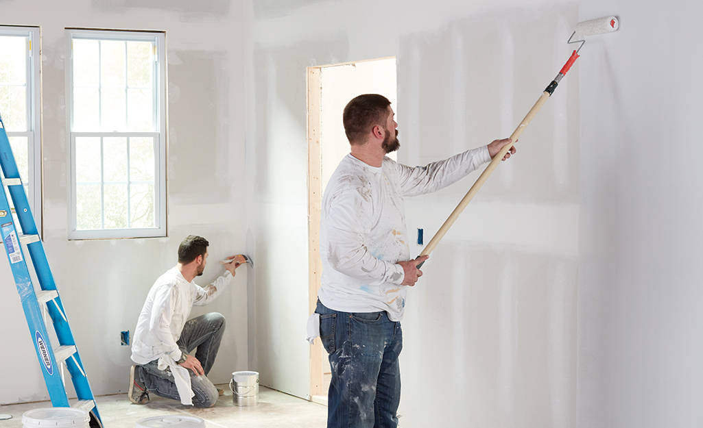 How To Paint A Room The Home Depot