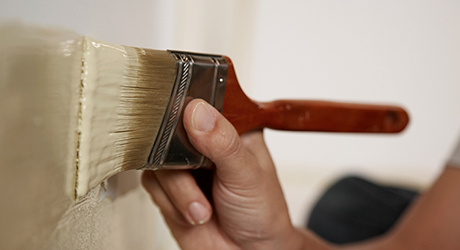 Repeat the process - Painting Ceilings