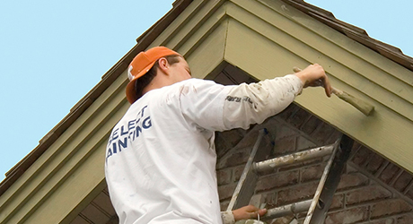 Rinse the entire house again - Paint House Exterior
