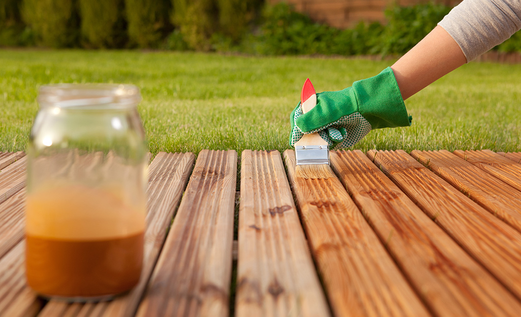 How To Refinish A Deck The Home Depot