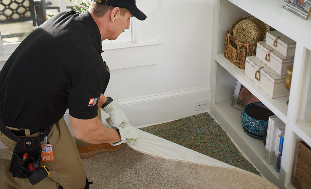 Remove carpet tack - Removing Old Carpet