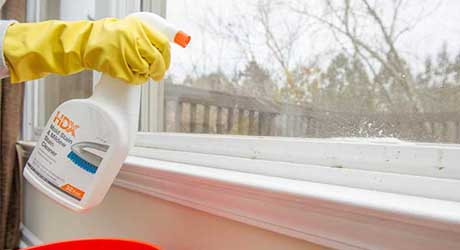 Use mold and mildew remover - How Remove Mildew