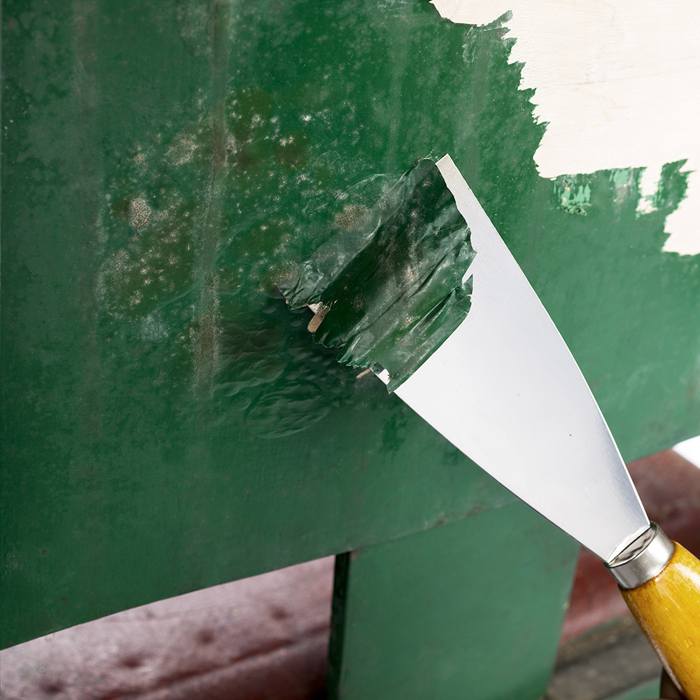 how to remove paint from wood the home depot. Black Bedroom Furniture Sets. Home Design Ideas