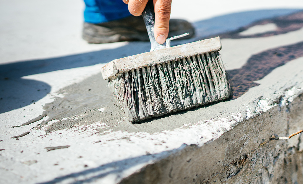 How To Repair Concrete Steps The Home Depot