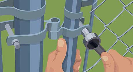 Fix alignment adjusting hinge pins - Repairing  Maintaining Fences and Gates