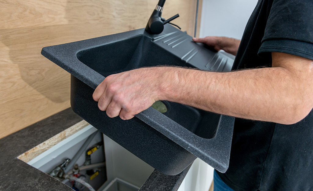 How To Replace A Kitchen Sink The Home Depot