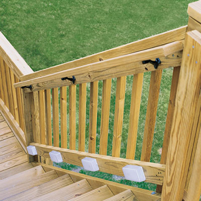 How to Replace a Deck Stair Railing - The Home Depot
