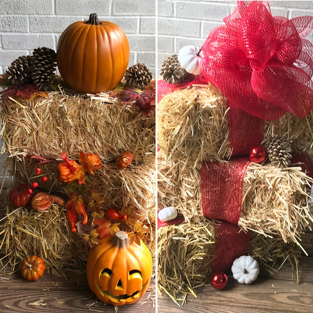 How To Repurpose Harvest Decor For Festive Holiday Style The Home Depot