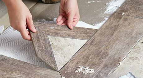 Test Insets - Set Pattern Floor Tile
