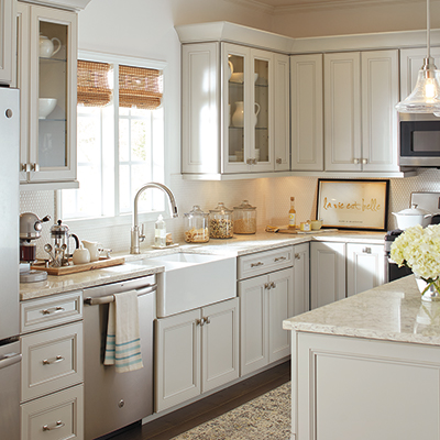 New Kitchen Cabinets | Kitchen Cabinet Ideas The Home Depot