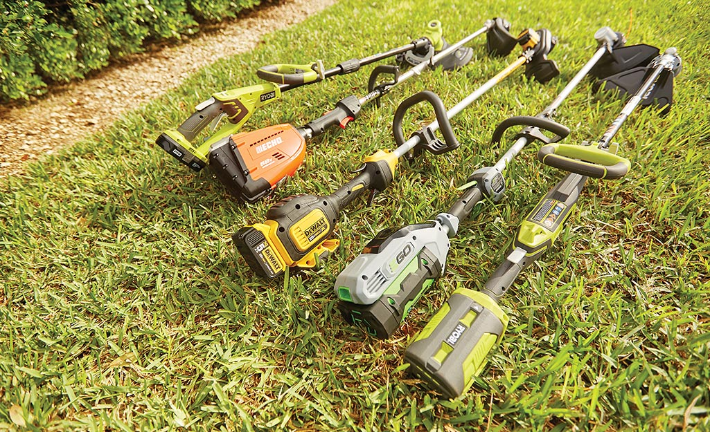 How to Use a String Trimmer - The Home Depot