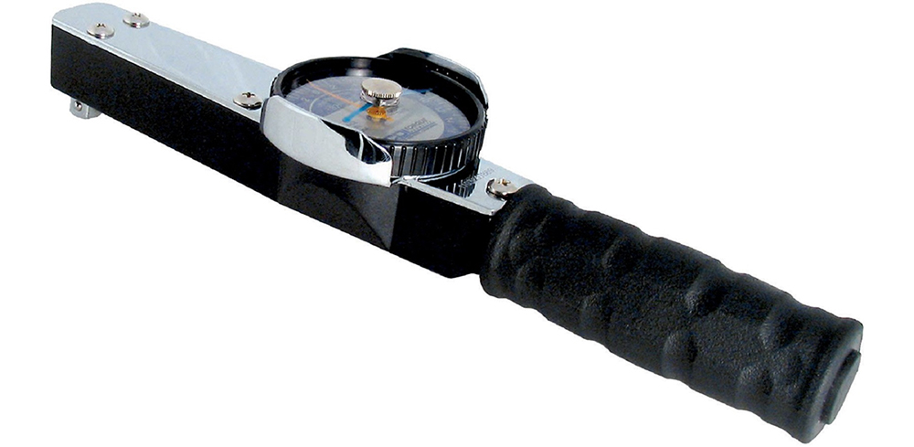 An image of a dial torque wrench