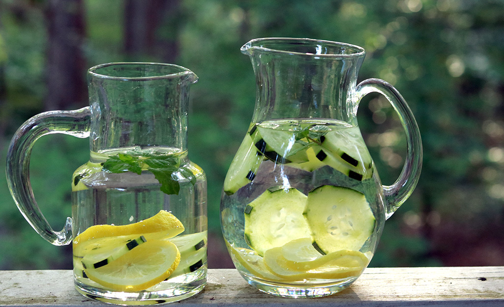 How to Make Refreshing Herb-Infused Waters