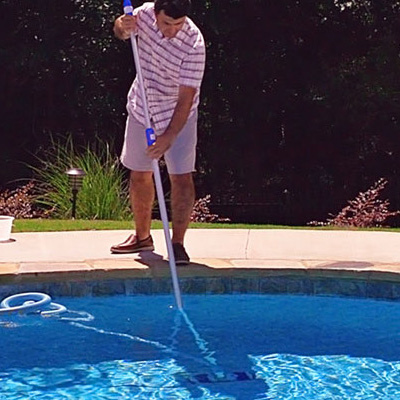Learn how to vacuum your pool for clean swimming all season long