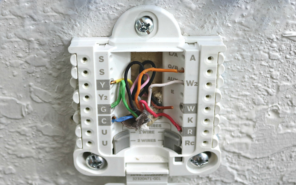 how to wire a thermostat  the home depot