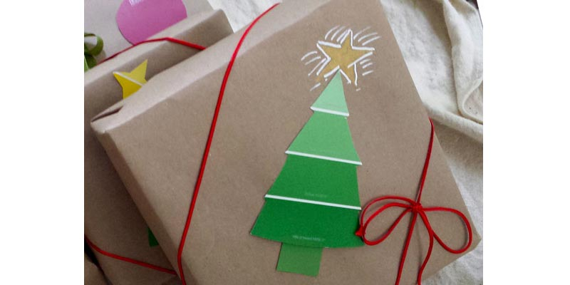 Wrap in Builder's Paper