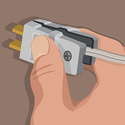 How to Replace a Power Cord Plug