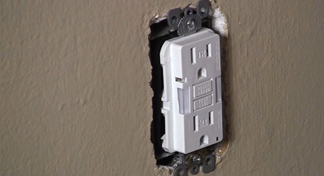 Tremendous How To Install A Gfci Outlet The Home Depot Wiring Digital Resources Dylitashwinbiharinl