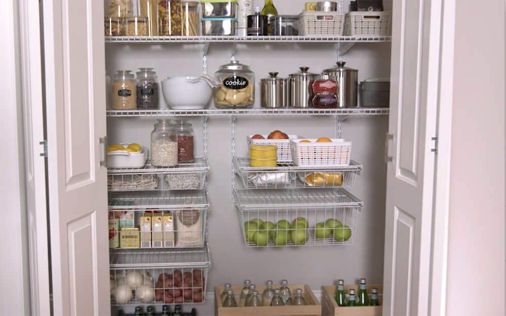 Kitchen And Pantry Storage And Organization Ideas The Home Depot