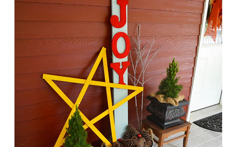 Joy Sign with a Star