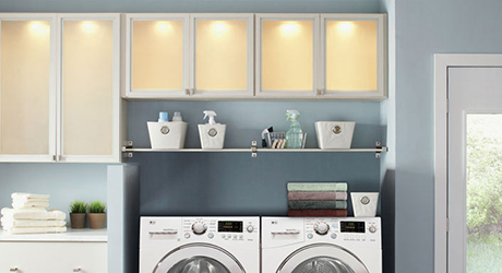 How To Make Over Your Laundry Room The Home Depot