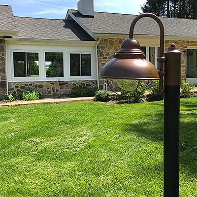 Light the Way: DIY Lamp Post Re-Do