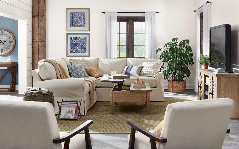 Living Room Decorating Ideas , The Home Depot