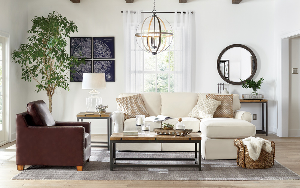 Living Room Decorating Ideas - The Home Depot