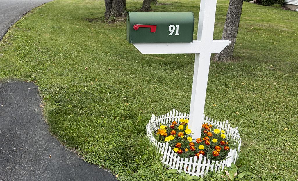 Mailbox Garden Ideas The Home Depot