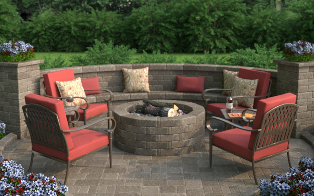 10 Sizzling Hot Outdoor Fire Pit Spaces The Home Depot