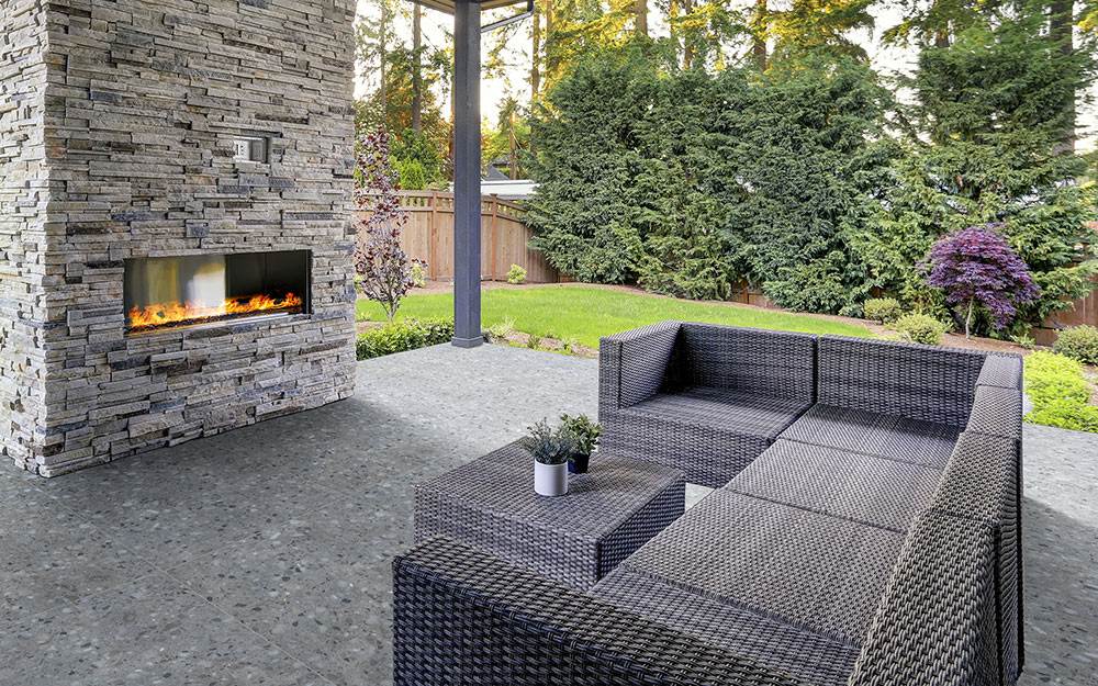 Miraculous Outdoor Fireplace Ideas The Home Depot Download Free Architecture Designs Aeocymadebymaigaardcom