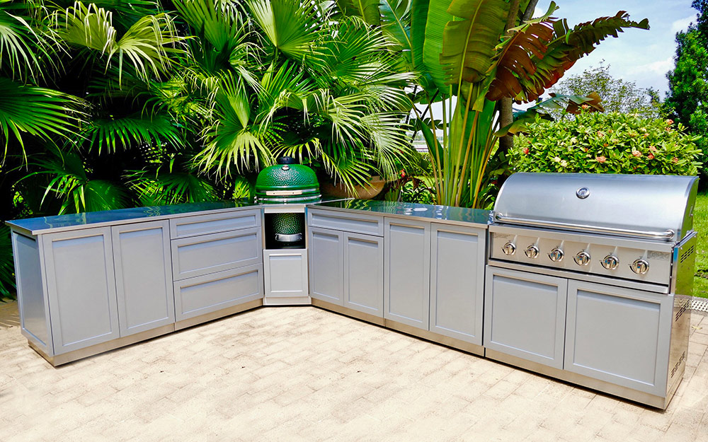 Outdoor Kitchen Ideas - The Home Depot on ideas for roofing, ideas for kitchen remodels, ideas for tile, ideas for stucco, ideas for columns, ideas for mailboxes, ideas for patio furniture, ideas for pavers, ideas for fencing, ideas for mulch, ideas for doors, ideas for arbors, ideas for bars, ideas for firepits, ideas for railings, ideas for sidewalks, ideas for hardscaping, ideas for brick, ideas for water features, ideas for grills,