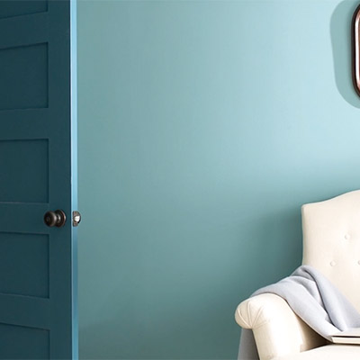 A smooth paint job like the one in this image is simple with these preparation tips.