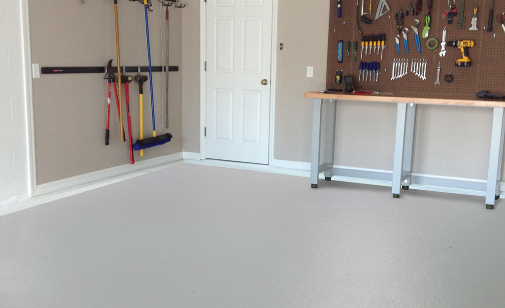 Paints And Stains For Your Concrete Basement Garage Floor