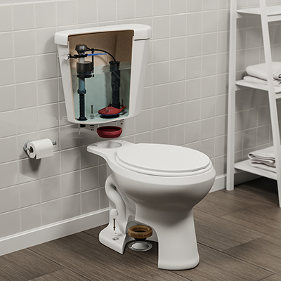 Parts of a Toilet