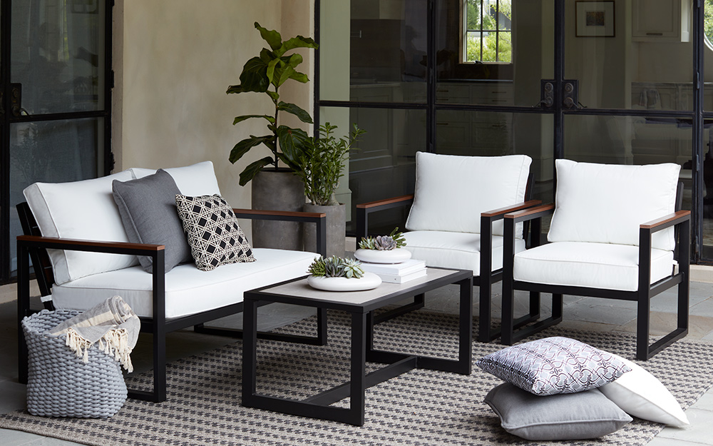 Super Best Patio Furniture For Your Yard The Home Depot Home Interior And Landscaping Mentranervesignezvosmurscom