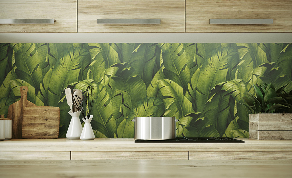 Peel And Stick Wallpaper Ideas The Home Depot