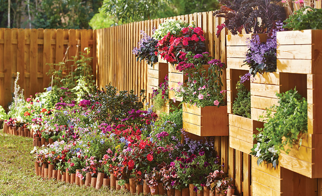 Picture of: Privacy Fence Ideas The Home Depot