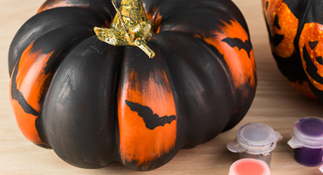 Lose the knife - Pumpkin Decorating Tips