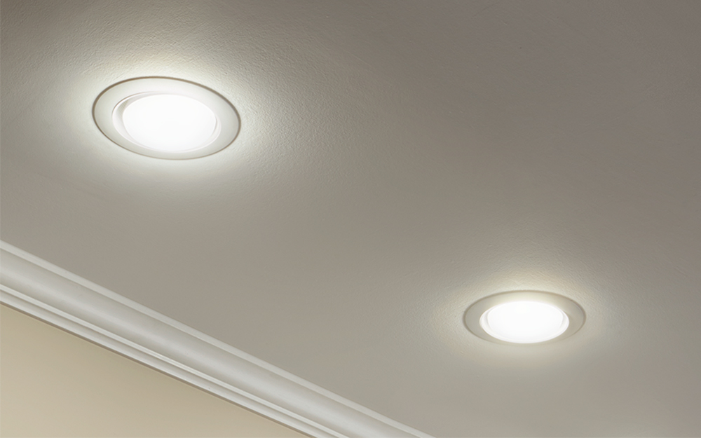 How To Install Recessed Lighting On Sloped Ceilings The Home Depot