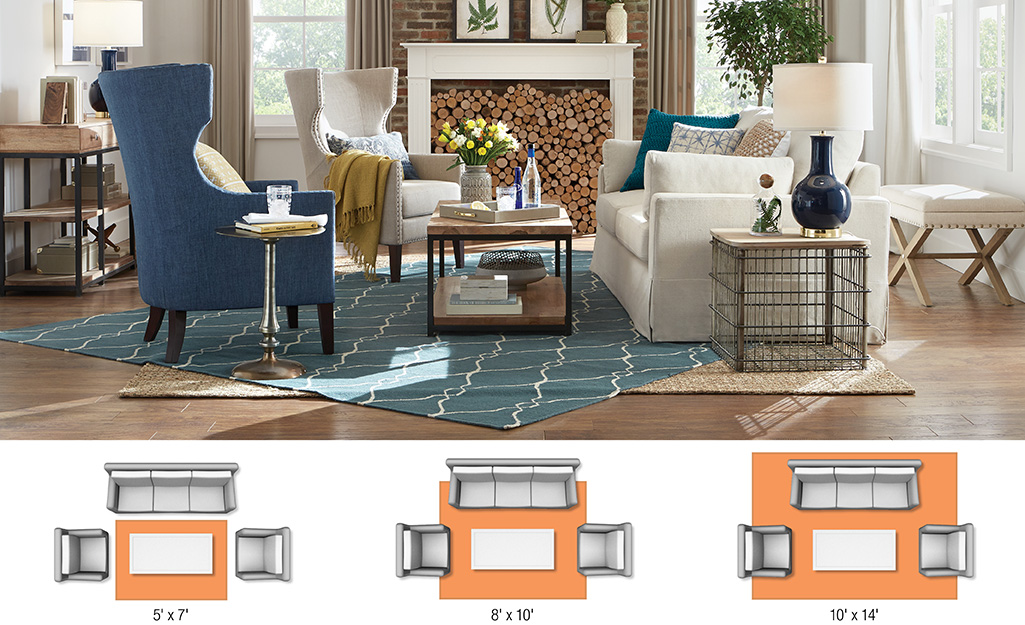 Rug Sizes for Your Space - The Home Depot