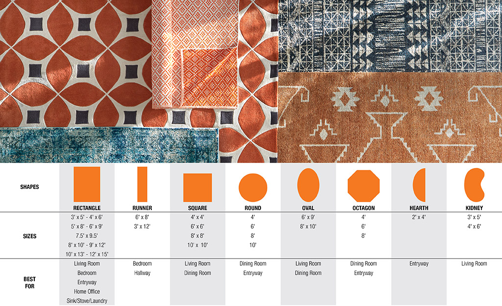 Rug Sizes For Your E The Home Depot