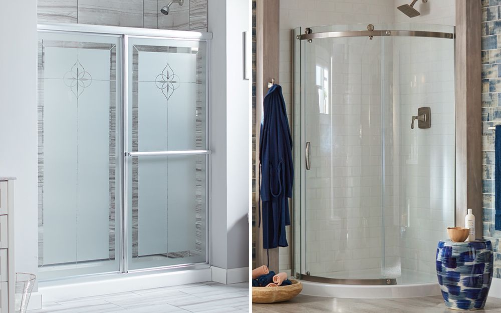 Tips For Selecting Shower Doors The Home Depot