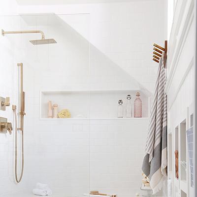Six Step Walk-In Shower Install